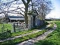 Ornamental Doorway by Old Hall Farm - geograph.org.uk - 410436.jpg