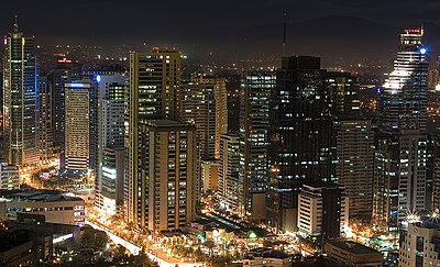 Metro Manila, the most populous metropolitan area in the Philippines