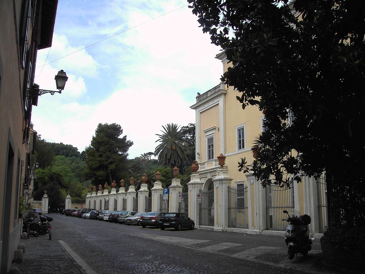 Orto botanico di roma wikipedia for O giardino di pulcinella roma