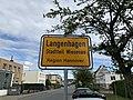 Ortstafel Langenhagen Stadtteil Wiesenau Region Hannover.jpg