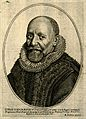 Otto Heurnius. Line engraving by P. Aubry after M. Negre. Wellcome V0002741.jpg