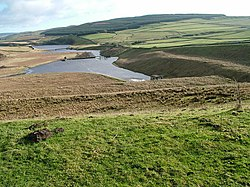 Outflow from Selset Reservoir - geograph.org.uk - 673520.jpg