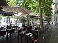 Outside cafe near Puerta de Alcalá in Madrid, Spain.JPG