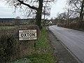 Oxton village sign - geograph.org.uk - 1629029.jpg