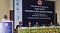 P. Radhakrishnan addressing at the inauguration of the international conference on `Road Safety Scenario in India and Way Forward', organised by the Indian Roads Congress, in New Delhi. The Secretary.jpg