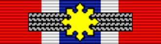 Fortunato Abat - Image: PHL Legion of Honor Commander BAR