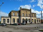 Dworzec kolejowy w Z�otowie