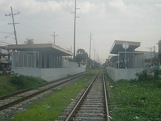 PNR Metro South Commuter Line - Laong Laan railway station