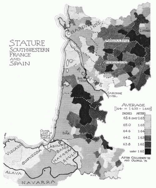 PSM V51 D648 Statures of southwest france and spain.png