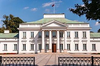 Belweder - Image: Pałac Belweder w Warszawie