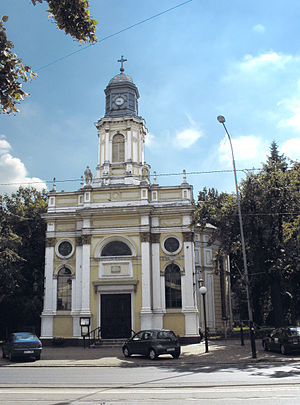 Lutheran Diocese of Warsaw - Church of Saint Peter and Saint Paul in Pabianice