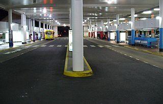 Pacific Fair bus station