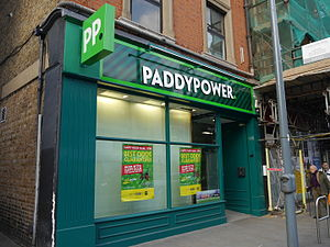 Paddy Power - An outlet in Hammersmith, London