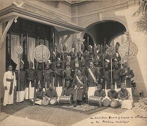 Lascarins - Image: Padikara Mudali Nanayakkara Rajawasala Appuhamilage Don Arthur de Silva Wijesingha Siriwardana of Richmond Castle Kalutara (1889 1947)
