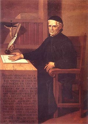 António Vieira - Father António Vieira, by an unknown artist of the early 18th century.