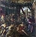 Paintings by Tintoretto in Scuola Grande di San Rocco - Probatica Piscina.jpg
