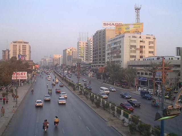 Karáči, nebezpečné mestá