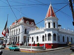 El Oro de Hidalgo - Image: Pal Municipal El Oro