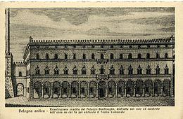 Risultati immagini per foto FAI Bologna Palazzo bentivoglio