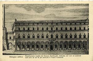 Palazzo Bentivoglio, Bologna - 18th Century reconstruction of the Bentivoglio Palace in Bologna, destroyed in 1507