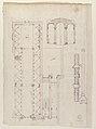 Palazzo Salviati-Adimari elevations (recto) Villa Farnesina stables, plan and section; drawing of a screw (verso) MET 49.92.44 VERSO.jpg