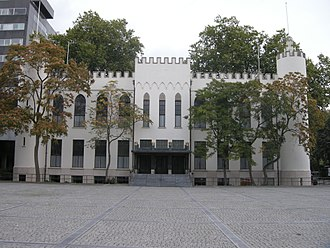 City Hall of Tilburg - The Paleis-Raadhuis, the city hall of municipality Tilburg.