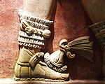 Palenque - Jungle - Relief de pied de Pacal II (ou pas).JPG