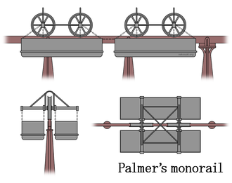 History of monorail - Palmer's monorail.
