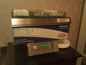 Pancake machine - Image: Pancake Machine (5574308502)
