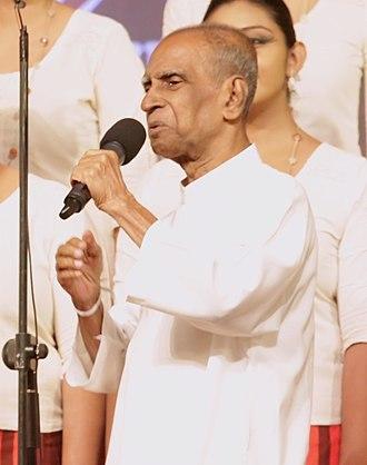 W. D. Amaradeva - Image: Pandit Dr.W. D. Amaradeva
