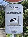Panneau Vidéoprotection Rue Monet Goyon - Mâcon (FR71) - 2021-03-01 - 1.jpg