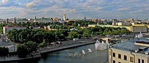 Bolotnaya Square - Image: Panorama CAD Moscow cut