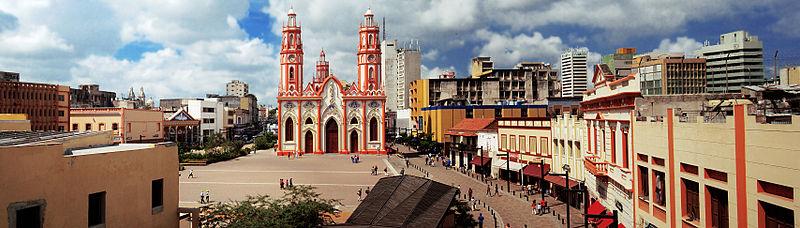 File:Panoramic of Plaza San Nicolás.jpg