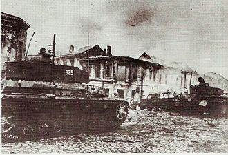 Battle of Kiev (1943) - Panzer IVs in Zhytomyr, November 1943