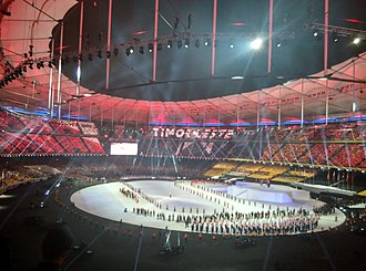 2017 Southeast Asian Games - Parade of Nations at the Opening Ceremony of the 29th Southeast Asian Games.