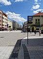 Pardubice, třída Míru, zastávka Třída Míru (02).jpg