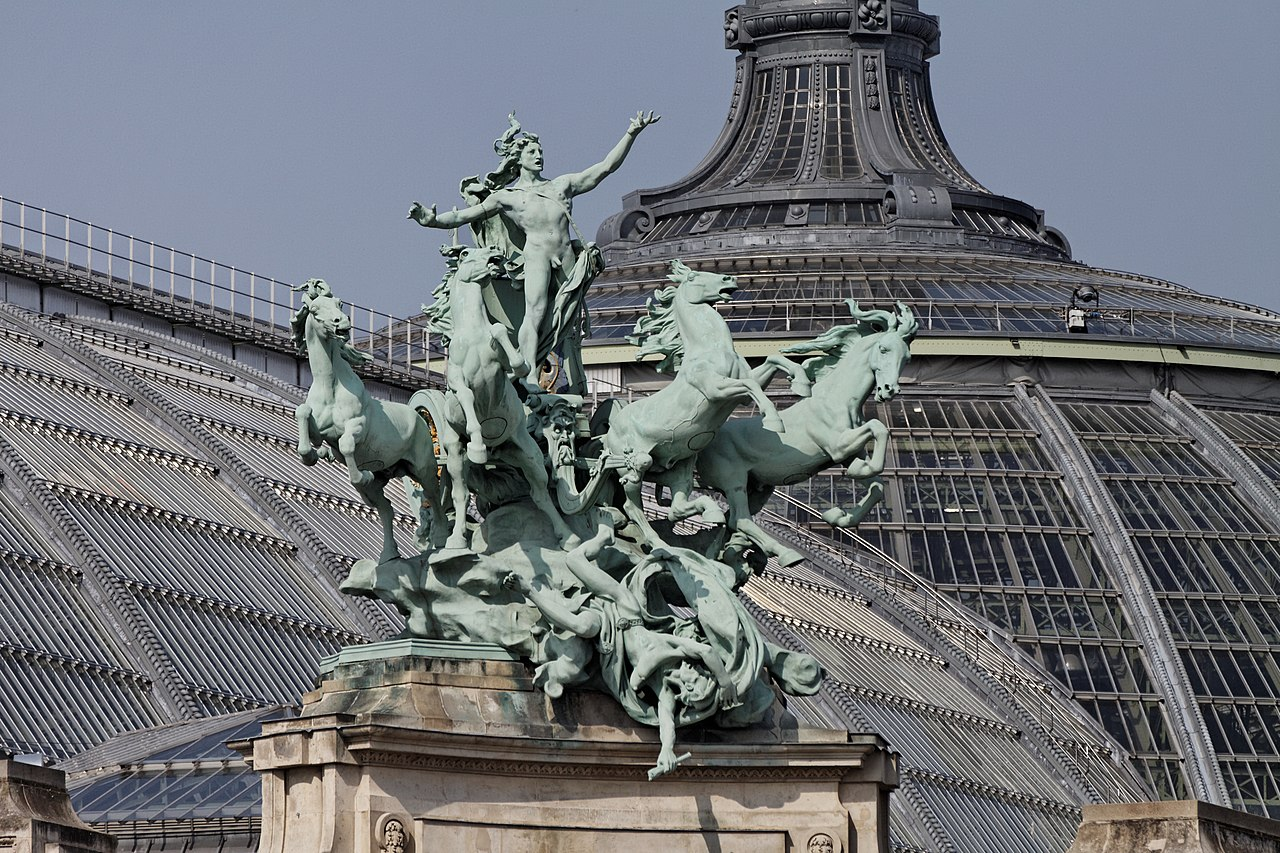 file paris grand palais statue pa00088877 wikimedia commons. Black Bedroom Furniture Sets. Home Design Ideas