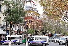 Il Bataclan dopo gli attentati del 13 novembre 2015 a Parigi