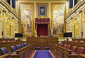 Parlamento de canarias wikipedia la enciclopedia libre for Parlamento sede