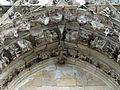 Parnes (60), église Saint-Josse, portail, détail de l'archivolte 1.jpg