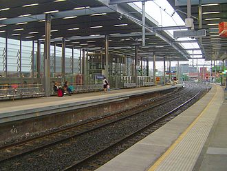 Main Western railway line, New South Wales - Parramatta is a major station in Sydney