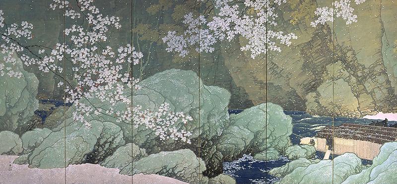 File:Parting Spring by Kawai Gyokudo (National Museum of Modern Art, Tokyo) L.jpg