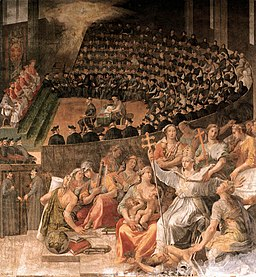 Pasquale Cati Da Iesi - The Council of Trent - WGA04574