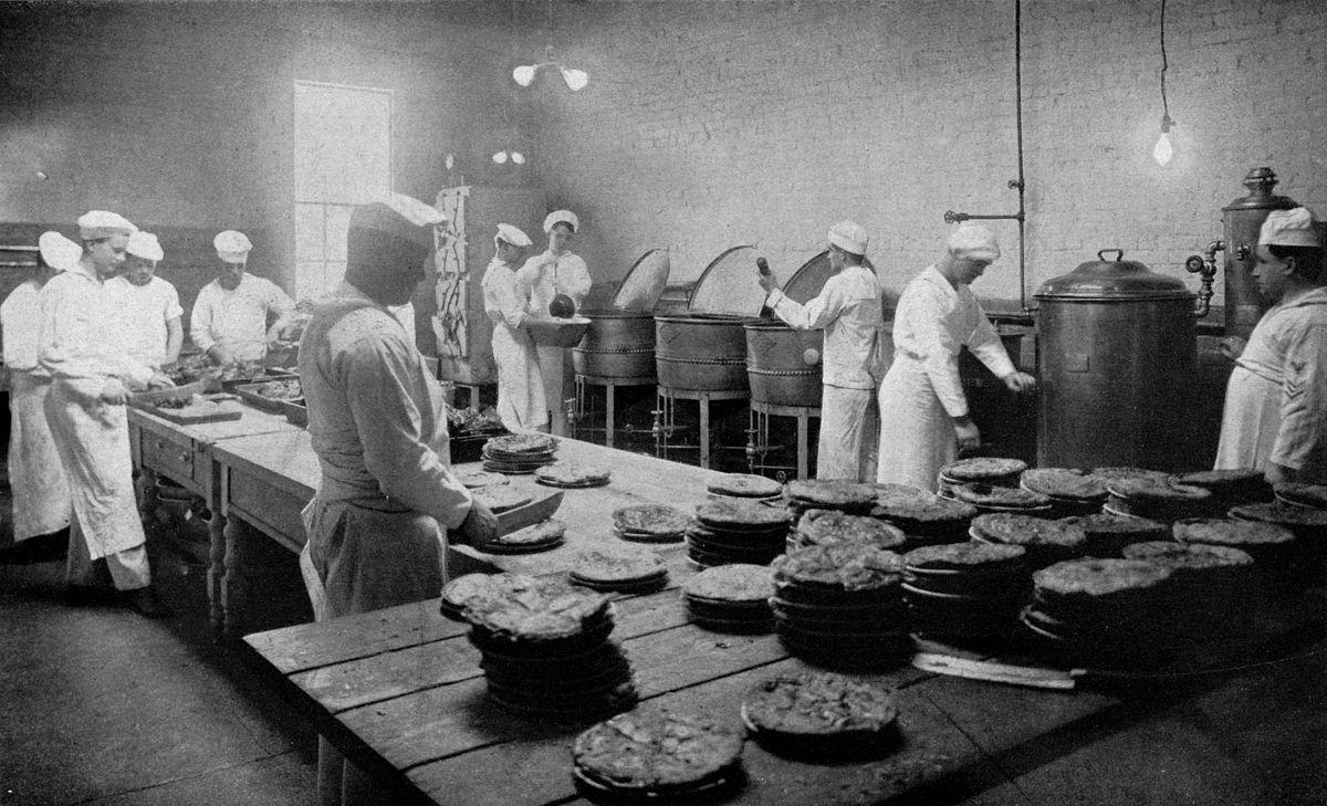 Brigade de cuisine wikipedia la enciclopedia libre for Trabajo jefe de cocina