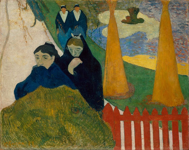 File:Paul Gauguin - Arlésiennes (Mistral) - Google Art Project.jpg