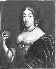 Bildnis der Henriette Adelaide von Savoyen