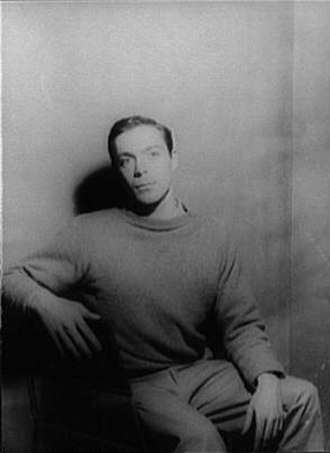 Paul Taylor (choreographer) - Taylor in 1960, photo by Carl Van Vechten