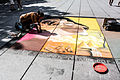 Pavement artist in Paris, 14 August 2013.jpg