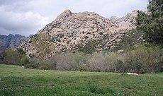 View of La Pedriza