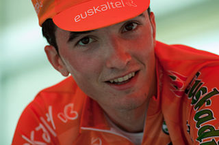 Pello Bilbao Spanish racing cyclist